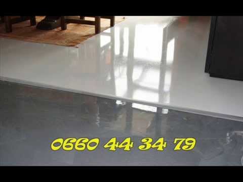 la resine epoxy rezine peinture epoxy de sol la resine youtube. Black Bedroom Furniture Sets. Home Design Ideas