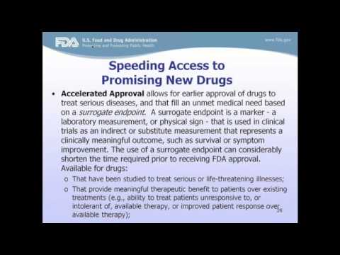 Introduction to US Food and Drug Administration: FDA 101