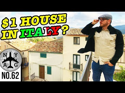 1 Euro House In Italy - Time to move to Italy?