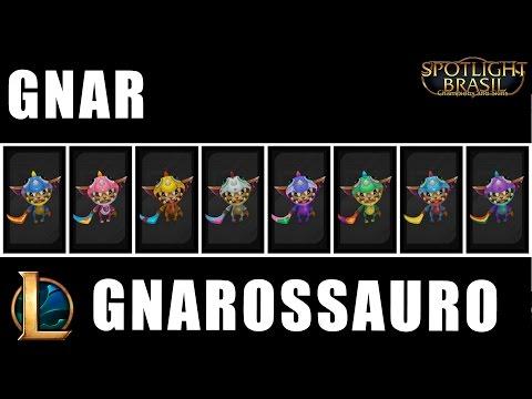 Gnarossauro - Chroma Skin