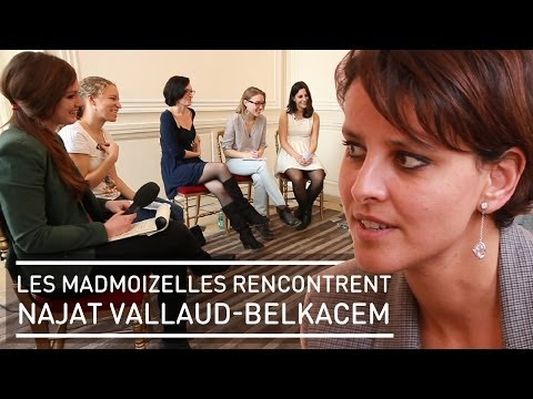 Les madmoiZelles rencontrent Najat Vallaud-Belkacem