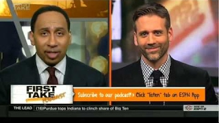 First Take - Stephen A Smith Says Russell Westbrook Should Be Mvp HD 2017