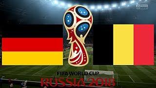 DEUTSCHLAND vs. BELGIEN (WM 2018) ◄DEU #16►