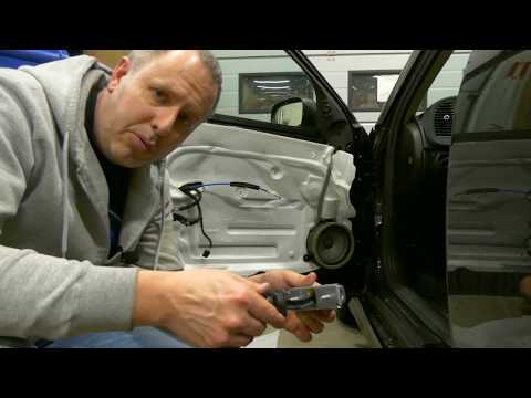 Saab 9-3 TurboX – How to replace the door stop on the driver side – DIY