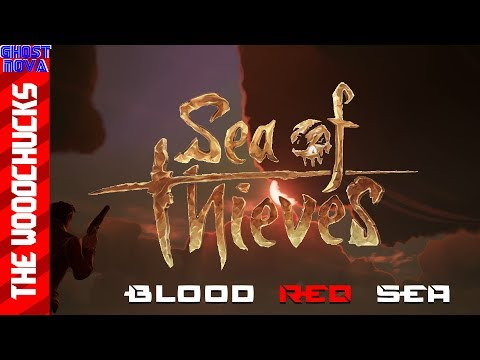 Sea Of Thieves Blood Red Sea