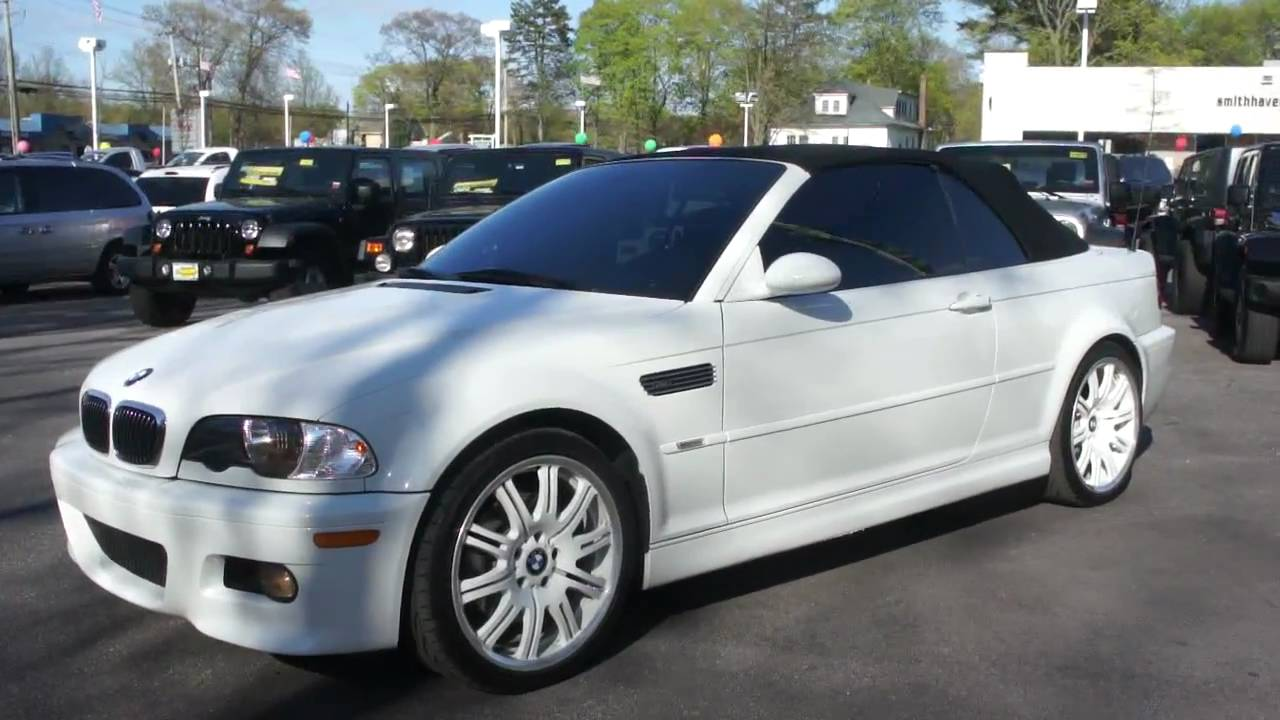 2003 bmw m3 convertible for sale smg low miles mint youtube. Black Bedroom Furniture Sets. Home Design Ideas