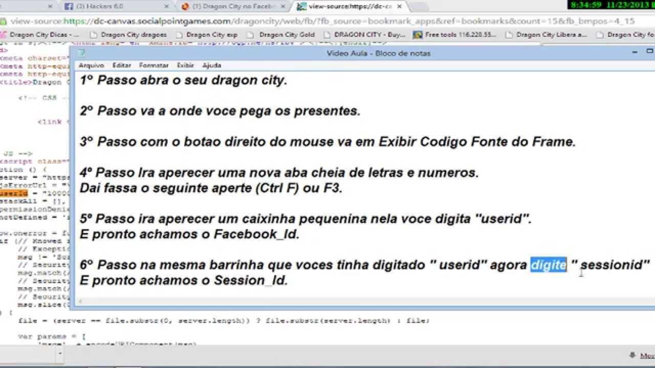 Armario De Cozinha Modulado ~ Como Pegar Facebook Id e Session Id Dragon City YouTube