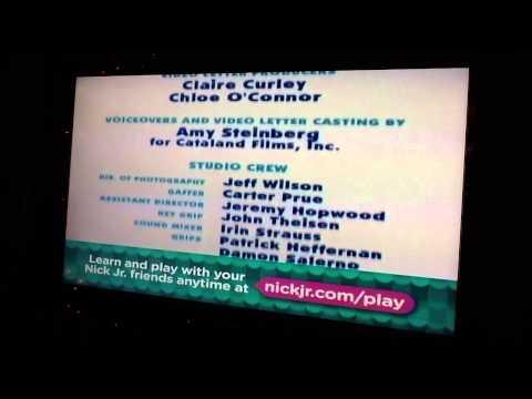 Blues Clues End Credits Remake