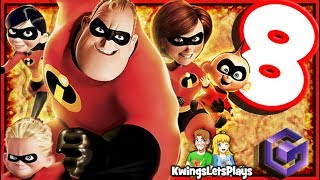 The Incredibles Walkthrough Part 8 Mrs Incredible
