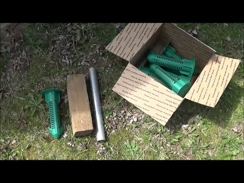 Installing Sentricon Recruit HD Termite Bait stations without an auger