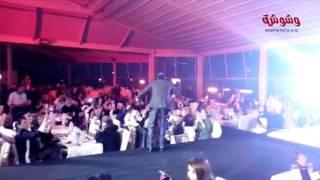 بالفيديو..أحمد شيبة يشعل إحدى الحفلات بـ'آه لو لعبت يا زهر'