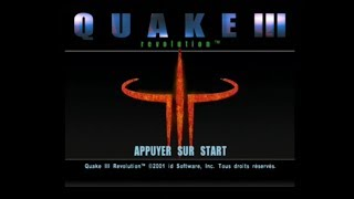 "[Ps2] Introduction du jeu ""Quake III Revolution"" de id Software (2001)"
