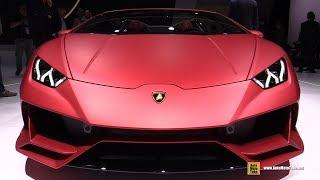 2020 Lamborghini Huracan Evo Spyder - Exterior Interior Walkaround - 2019 Frankfurt Motor Show