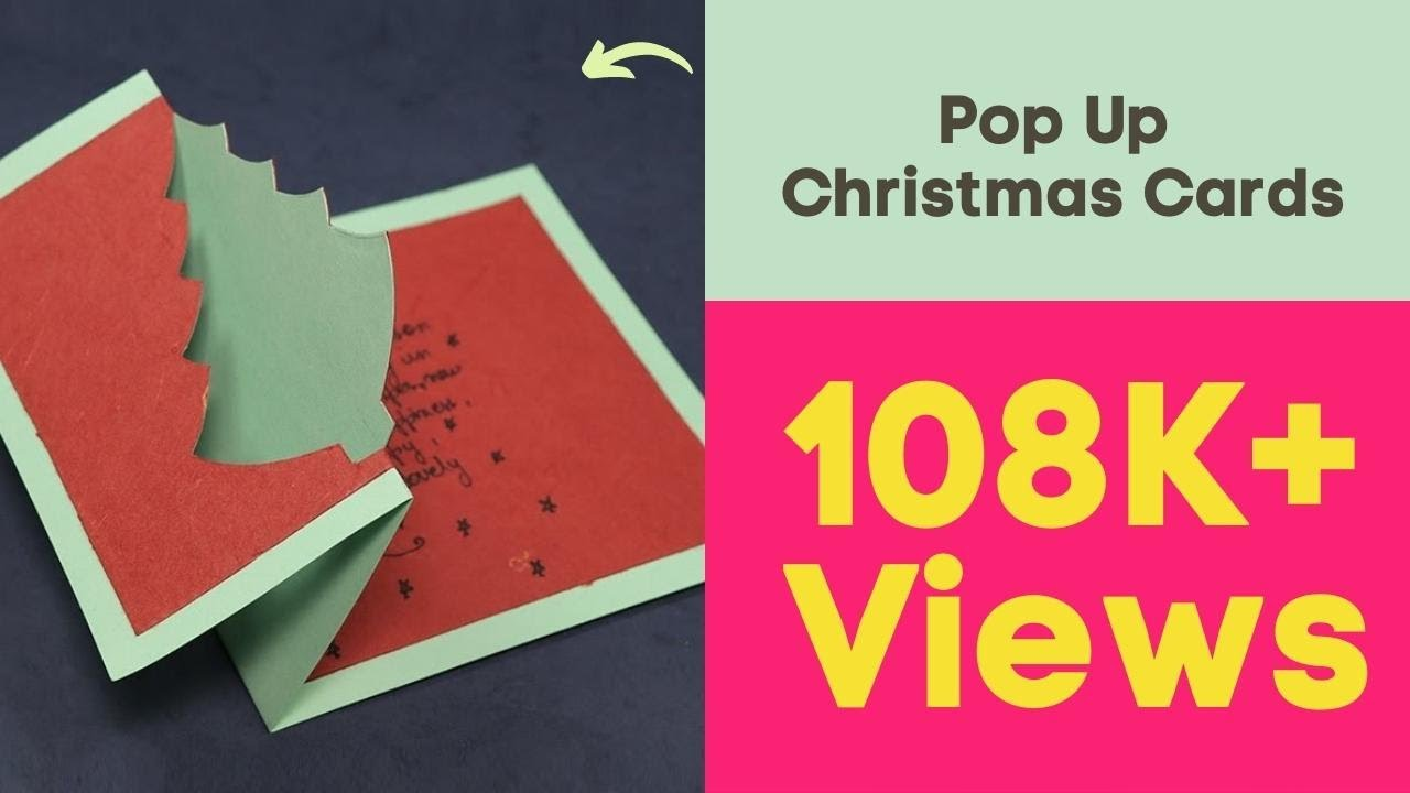 Diy Christmas Pop Up Cards How To Make Pop Up Christmas Cards