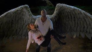 Люцифер 3x23 Аменадиэль улетает с Шарлоттой на небеса