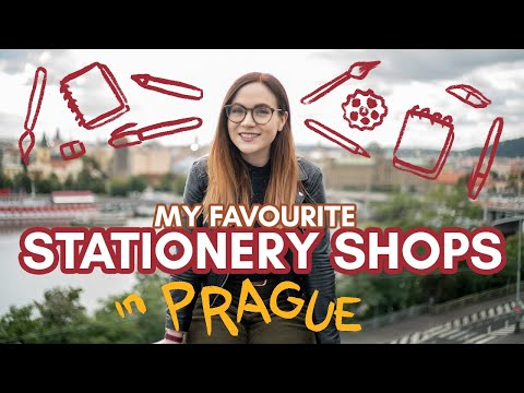 Best STATIONERY SHOPS in PRAGUE!