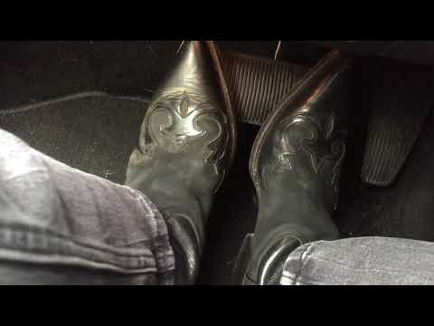 Pedal Pumping In A  Truck In My Cowboy Boots 2