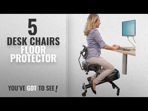 Top 10 Desk Chairs Floor Protector [2018]: Sleekform Ergonomic Kneeling Chair with Backrest and