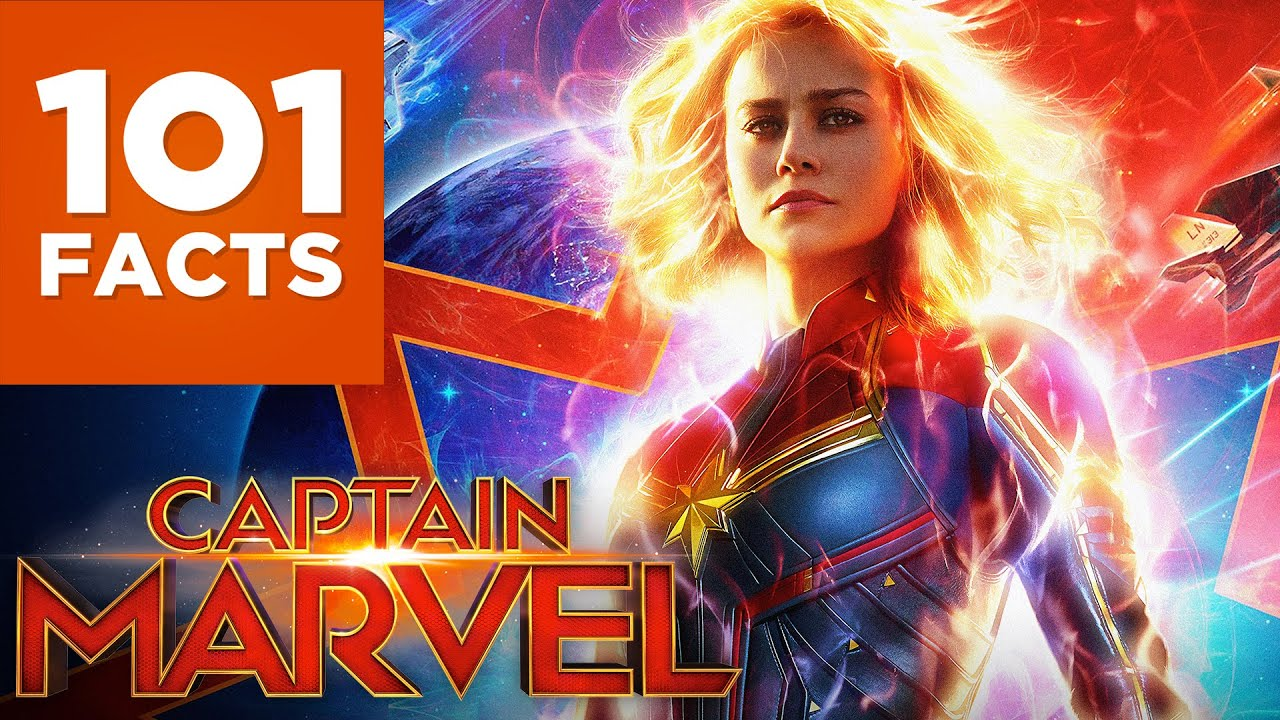 101 facts about captain marvel