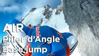 Pilier d'Angle Courmayeur Mont-Blanc Wingsuit Base Jump alpinisme Valery Rozov - 8457