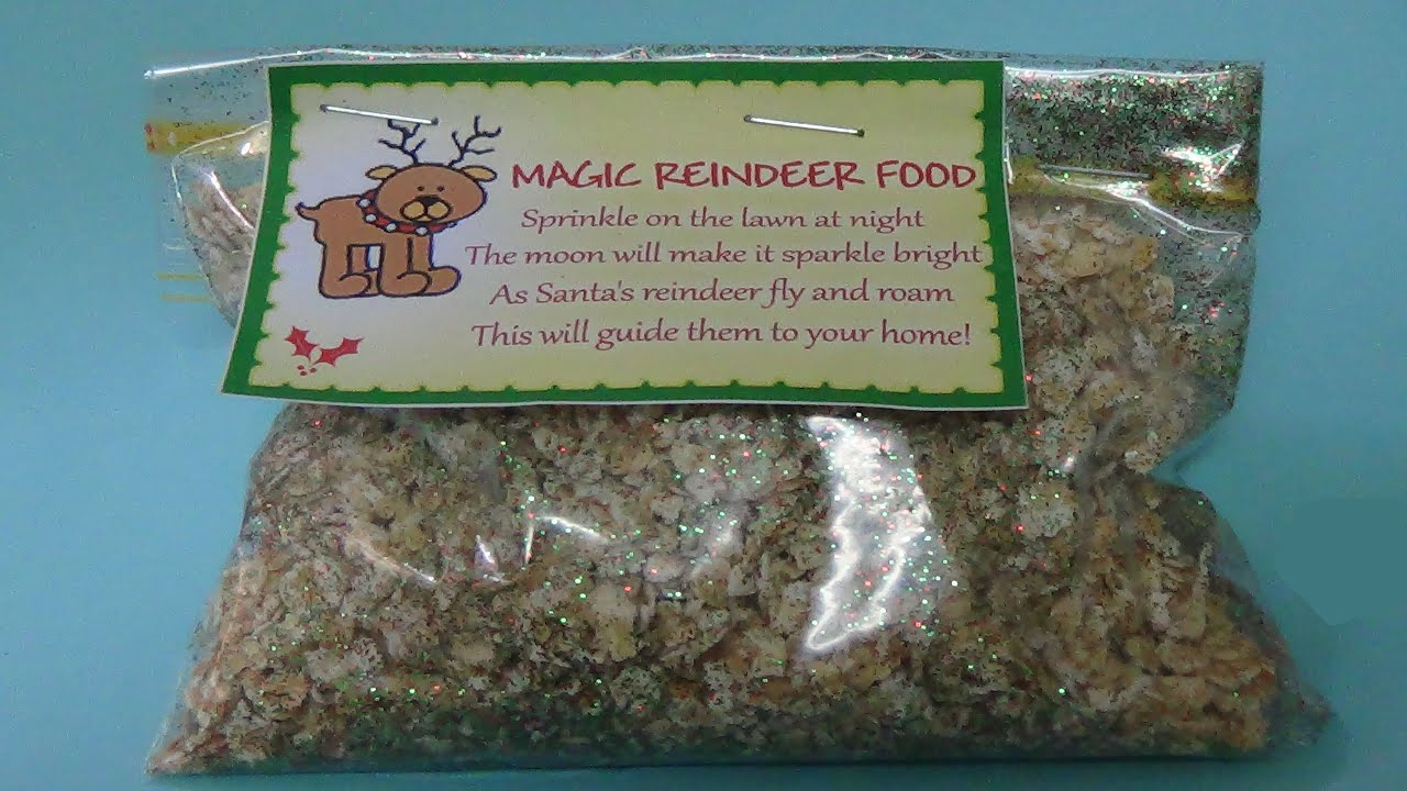 Magic reindeer food youtube magic reindeer food forumfinder