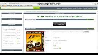 How to download f1 2014 using torrentz