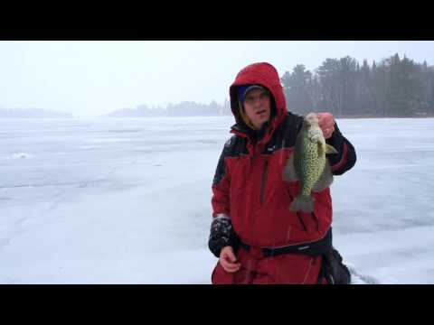 Custom Jigs & Spins RatFinkee In Action! Catch More Fish When Ice Fishing.