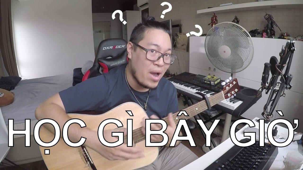 [Guitar] Cơ bản học gì? Nâng cao học gì?