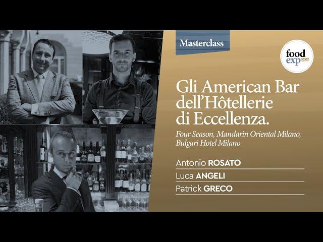 Gli American Bar dell'Hôtellerie di Eccellenza: Four Seasons, Mandarin Oriental, Bulgari Hotel Milan