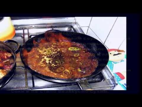 Мясо в имбирно медовом соусе с коньяком