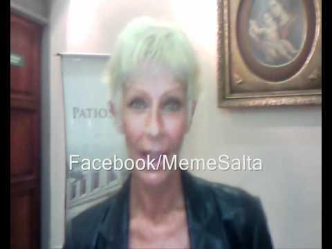 Maria Valenzuela saludandome