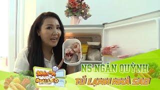 Dùng mật ong để giảm mỡ bụng như Nghệ sĩ Ngân Quỳnh | Bật Mí Tủ Lạnh Nhà Sao | KVNS