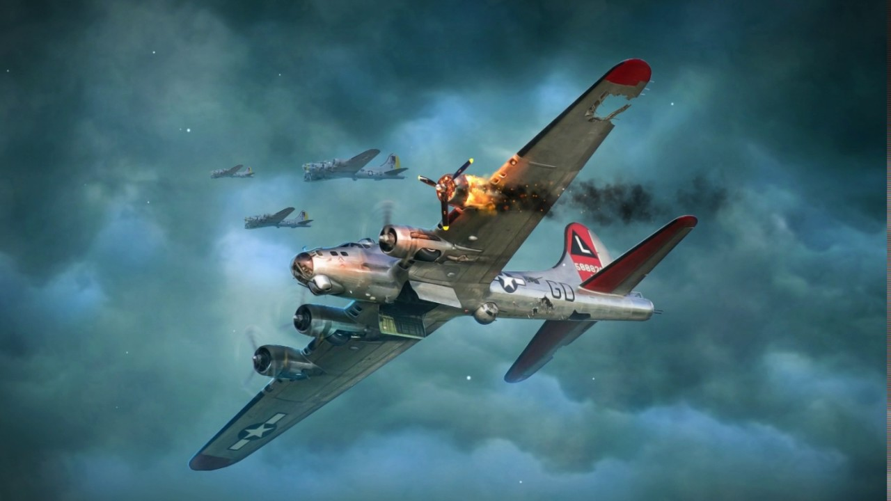B 17 Flying Fortress Ww2 Android Live Wallpaper Youtube