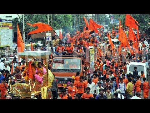 Khandwa महादेवगढ़ - हिन्दू राष्ट्र कावड़ यात्रा | गली-गली गूंजा हर-हर महादेव | Mahadev Gad