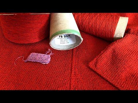 Вязание спицами. Буретный шелк. Обзор пряжи от Filati Buratti.