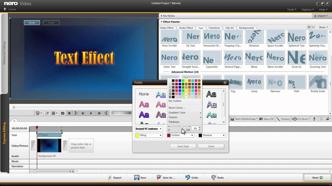 how to add effects in youtube videos