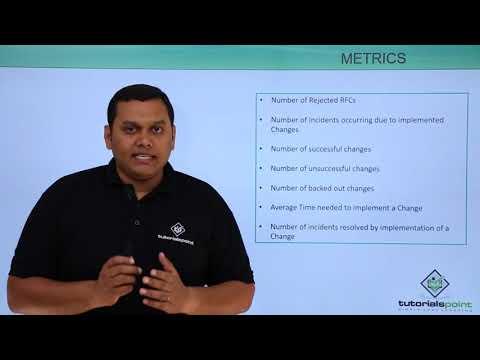 Change Management - Metrics Roles And Responsibilities
