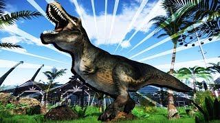 BUILDING the BEST JURASSIC WORLD PARK Ever! - Mesozoica Gameplay -