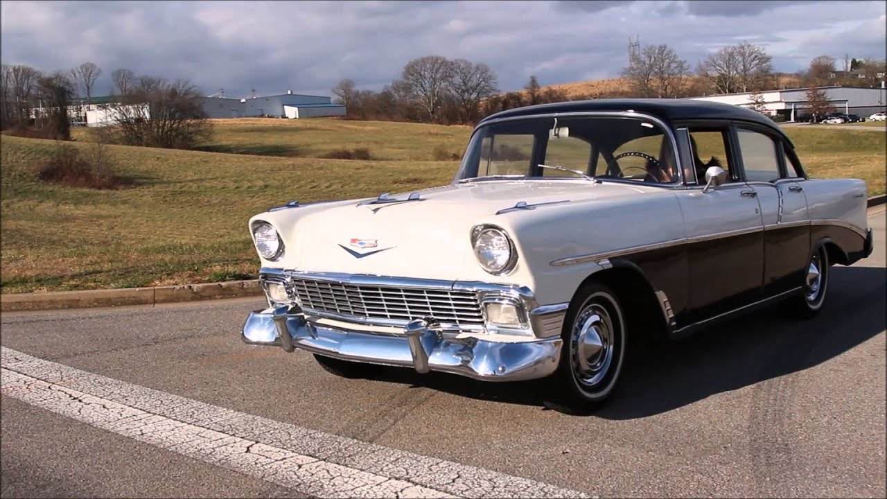 1956 chevy 210 4 door youtube for 1956 chevy 4 door