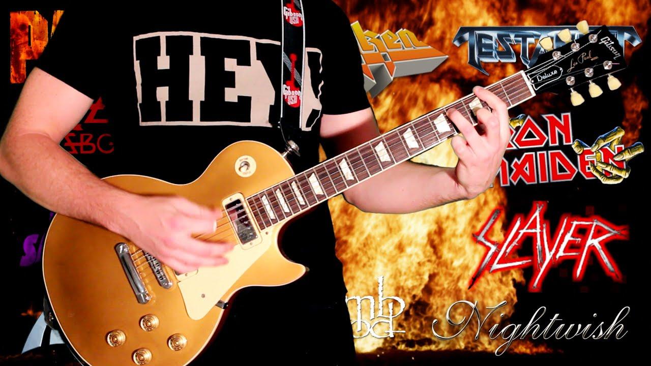 top 100 greatest metal guitar riffs part 2 youtube. Black Bedroom Furniture Sets. Home Design Ideas