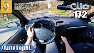 Renault Sport Clio RS 172 POV *Fantastic Sound* Test Drive by AutoTopNL