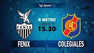 CA Fenix vs Colegiales full match