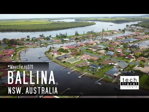 [4K] Ballina, the Big Prawn - New South Wales - Australia
