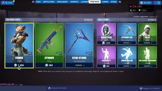 *NEW* FENNIX SKIN! August 25 New Skins - Fortnite Item Shop Live (Fortnite Battle Royale)
