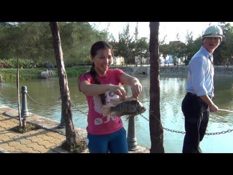 Thi câu cá - Giao hữu giữa CA Bình Thạnh vs ĐH Tôn Đức Thắng 26/03/2012