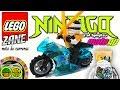 Motos LEGO Ninjago ZANE. Motos de juguete para niños en vídeo animación Stop Motion