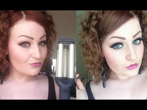 Babyliss Wave Envy On Short Hair Tutorial YouTube