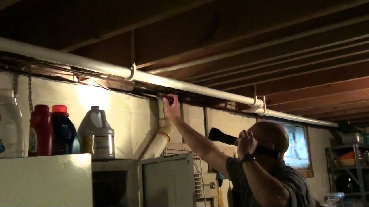 basement sill air vent