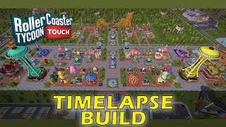 RollerCoaster Tycoon Touch - Build a park | Timelapse | Android screenshot 1