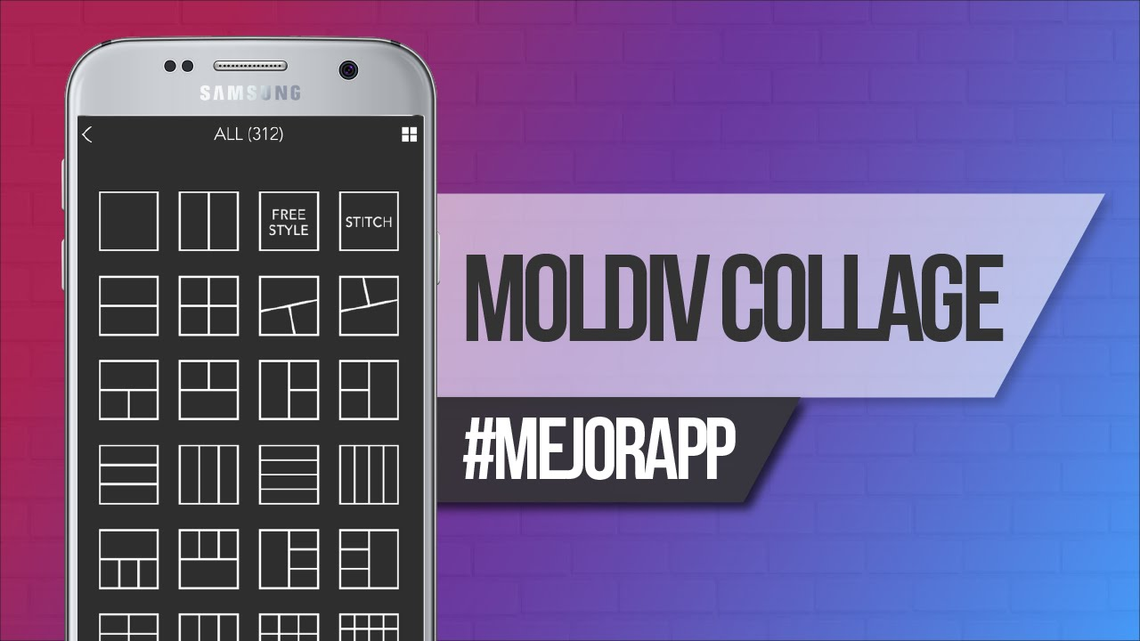 Moldiv la mejor app para crear collages de fotos desde for App para disenar muebles ipad